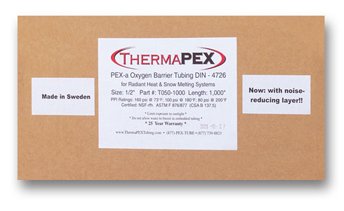 ThermaPEX Label
